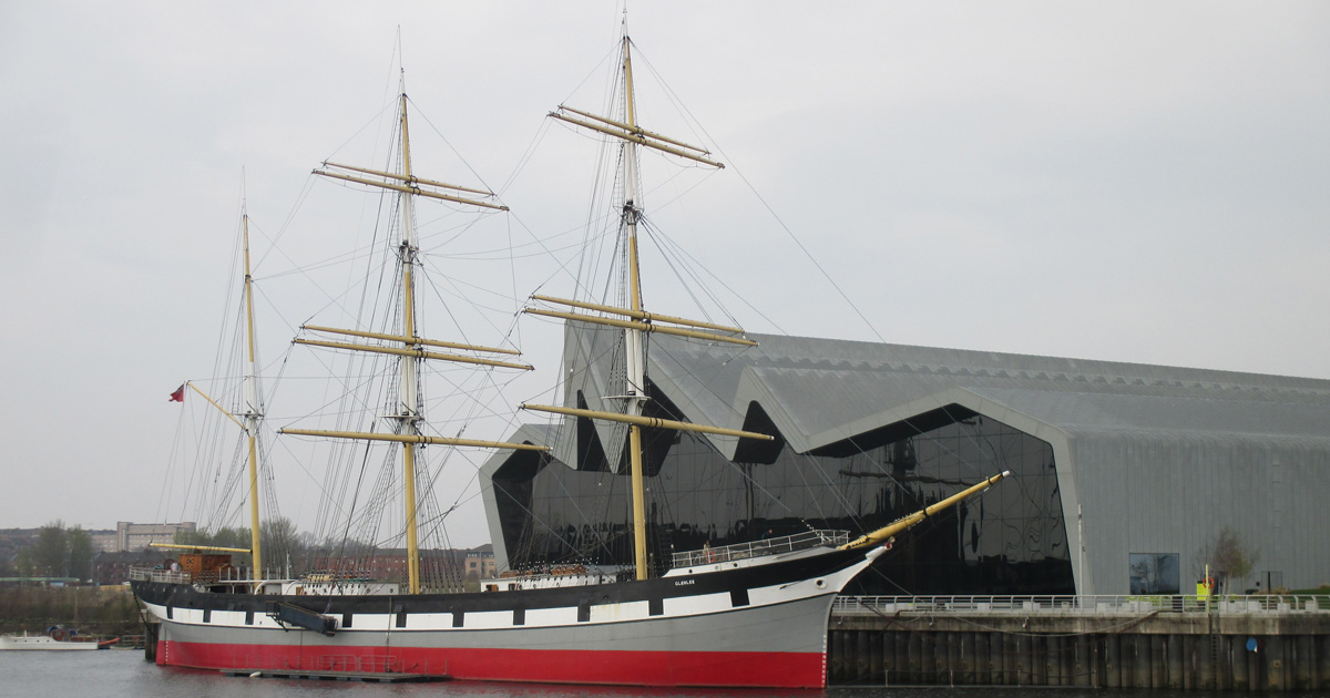 Glenlee at Riverside Museum Glasgow